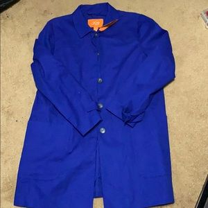Cobalt Blue Pea Coat 🧥